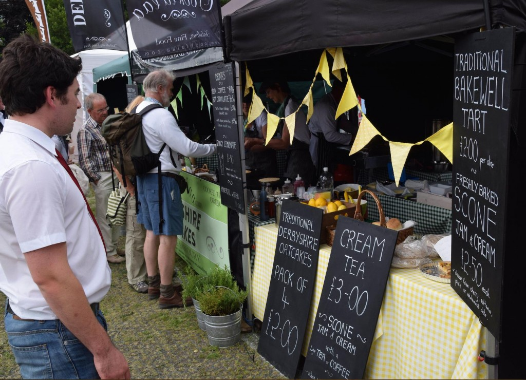 Artisan food producers at The Bakewell Show
