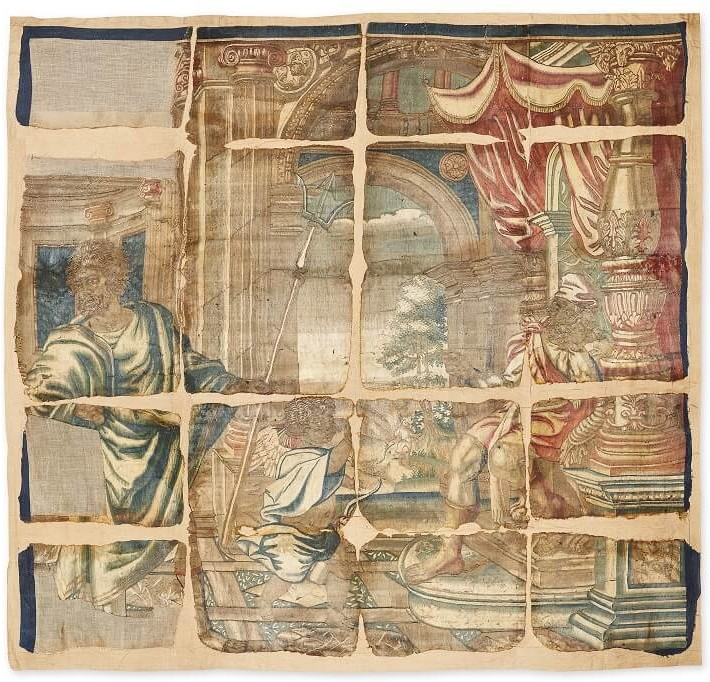 Haddon Hall Tapestry - \'Neptune and Vulcan Sick\' c. Haddon Hall